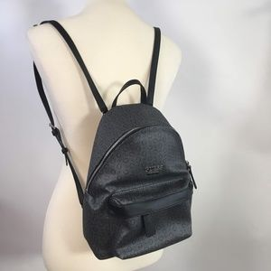 Guess Signature Mini Coal Backpack